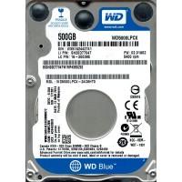 Винчестер для ноутбука WD Blue WD5000LPCX