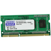 Модуль памяти SODIMM GoodRam DDR-IIIL 4Gb 1600MHz PC3-12800