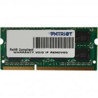 Модуль пам'яті SODIMM Patriot DDR-III 4Gb 1600MHz PC3-12800