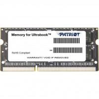 Модуль пам'яті SODIMM Patriot DDR-IIIL 4Gb 1600MHz PC3-12800