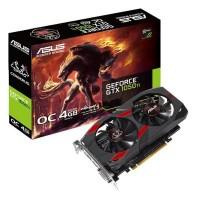 Відеокарта ASUS GeForce GTX1050 Ti 4096Mb CERBERUS OC CERBERUS-GTX1050TI-O4G