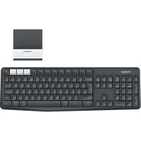 Клавиатура Logitech K375s Multi-Device Graphite RU, 920-008184