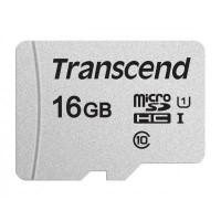 Карта пам'яті Transcend 16GB microSDHC class 10 UHS-I U1 TS16GUSD300S-A