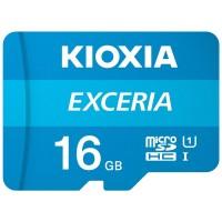 Карта пам'яті MicroSDHC 16GB UHS-I Class 10 Kioxia Exceria R100MB/s (LMEX1L016GG2) + SD-адаптер