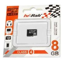 Карта пам'яті Hi-Rali 8GB microSDHC class 4 (HI-8GBSDCL4-00)
