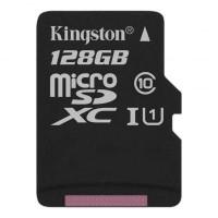 Карта пам'яті Kingston 128GB microSDXC Class 10 Canvas Select Plus 100R A1 (SDCS2/128GBSP)
