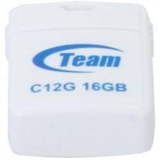 USB флеш накопитель Team 16GB C12G White USB 2.0 TC12G16GW01