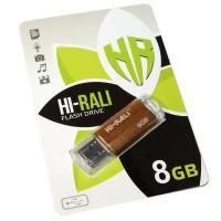 USB флеш накопичувач Hi-Rali 8GB Corsair Series Bronze USB 2.0 (HI-8GBCORBR)