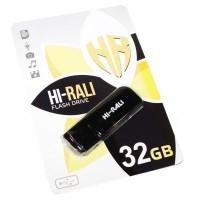 USB флеш накопичувач Hi-Rali 32GB Taga Series Black USB 2.0 (HI-32GBTAGBK)