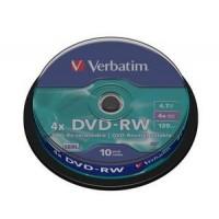 Компакт-диск DVD+RW Verbatim