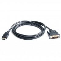 Кабель Real-El EL123500013, HDMI to DVI, 1.8m
