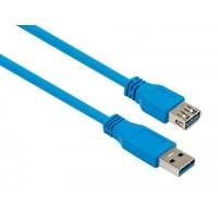 Дата кабель USB 3.0 AM/AF 1.8m Vinga (VCPUSB3AMAF1.8B)