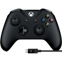 Геймпад Microsoft Xbox One Controller + USB Cable for Windows 4N6-00002