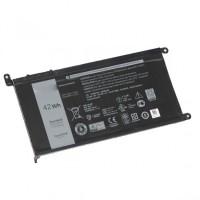 Батарея для ноутбука Dell WDX0R 11,4V 42Wh,  (Dell 3CRH3, Dell T2JX4, Dell WDX0R, Dell WDXOR, 13 5368, 13 7368, 13MF PRO-D1708TS, 15 5568, 15 7560, 15MF-1508TA, INS15-5567-D1745A, INS15-5567-D2645A, INS15-7560-D1505S, INS15-7560-D1605S)