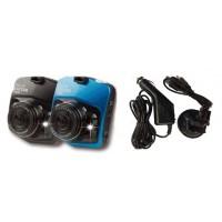 Автомобильный видеорегистратор Tiglon DVR-207D ( Разрешение 1280*720/25 fps, 640*480/30 fps, Широкоугольный объектив 120°, 2.5-дюймовый ЖК экран, Чипсет: Generalplus6624 + GC0308, Выход: AV out, Цвет корпуса: черный, Масса в упаковке: 200г )
