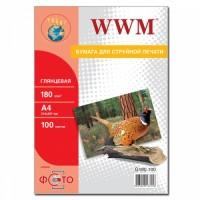 Фотобумага WWM G180.100
