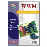 Бумага WWM A4 M180.50