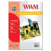 Бумага WWM A4 G200.20/C