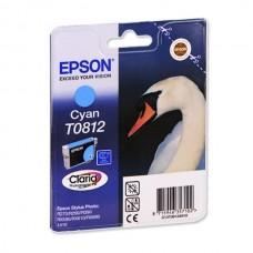 Оригинальный картридж Epson Stylus Photo R270, Cyan, C13T08124A/ T11124