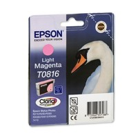 Оригинальный картридж Epson Stylus Photo R270, Light Magenta, C13T08164A, T11164A10