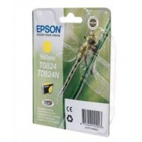Оригинальный картридж Epson Stylus Photo R270, Yellow, C13T08244A/ T11244A