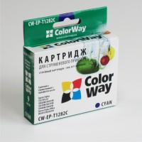 Совместимый картридж ColorWay, Epson St. S22/ SX125/ 130, Cyan
