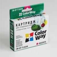 Совместимый картридж ColorWay, Epson St. S22/ SX125/ 130, Magenta