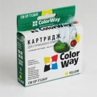Совместимый картридж ColorWay, Epson St. S22/ SX125/ 130, Yellow