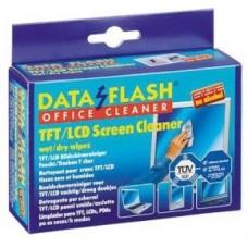 Чистящие салфетки для телефонов дезинфицирующие DataFlash 1732, 20шт.