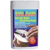 Чистящие салфетки для CD/DVD DataFlash 100шт (DF1521)