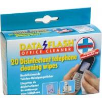 Чистящие салфетки DataFlash 1732 для телефонов (20 шт)
