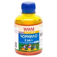 Чернила WWM Epson L100, E64/Y, Yellow, 200г