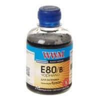 Чернила WWM Epson L800, Black, E80/B, 200г.