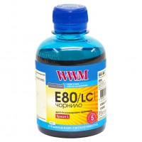 Чернила WWM Epson L800, Light Cyan, E80/LC, 200г.