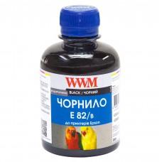 Чернила WWM для Epson StPhoto Black, E82B, для Epson Stylus Photo R270/ R390/ R1400/ RX590, 200г.